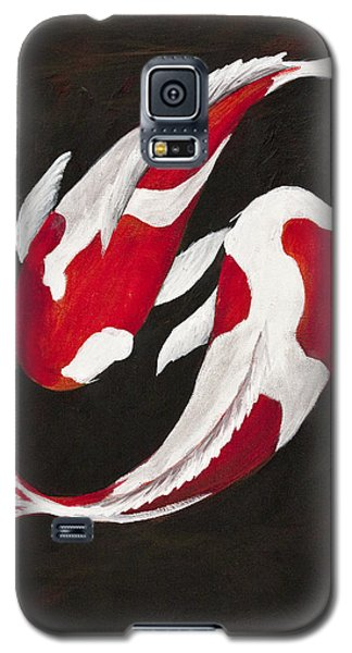 Yin And Yang Galaxy S5 Case by Darice Machel McGuire