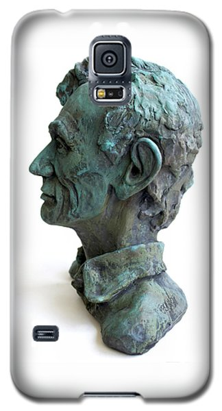 Ceramics Galaxy S5 Cases - Young Lincoln -sculpture Galaxy S5 Case by Derrick Higgins