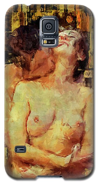 Nudes Galaxy S5 Cases - Youre Mine Galaxy S5 Case by Kurt Van Wagner
