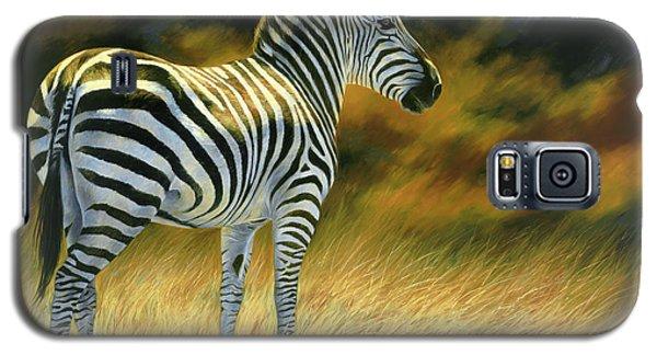 Zebra Galaxy S5 Case by Lucie Bilodeau