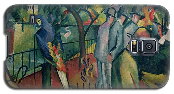 Zoological Garden I, 1912 Oil On Canvas Galaxy S5 Case by August Macke