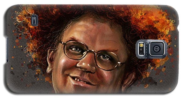 Celebrities Galaxy S5 Cases - Dr. Steve Brule  Galaxy S5 Case by Fay Helfer