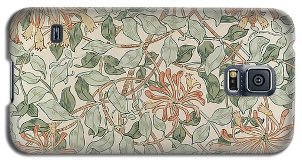 Honeysuckle Design Galaxy S5 Case by William Morris