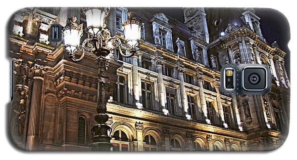 Architecture Galaxy S5 Cases - Hotel de Ville in Paris Galaxy S5 Case by Elena Elisseeva