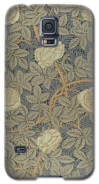 Rose Galaxy S5 Case by William Morris