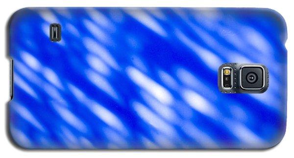 Galaxy S5 Cases - Blue Abstract 1 Galaxy S5 Case by Tony Cordoza