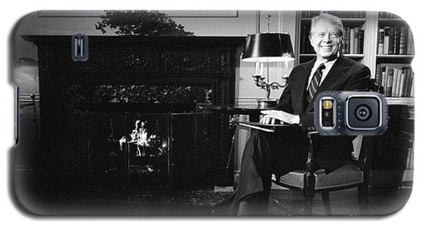 Jimmy Carter (1924- ) Galaxy S5 Case by Granger