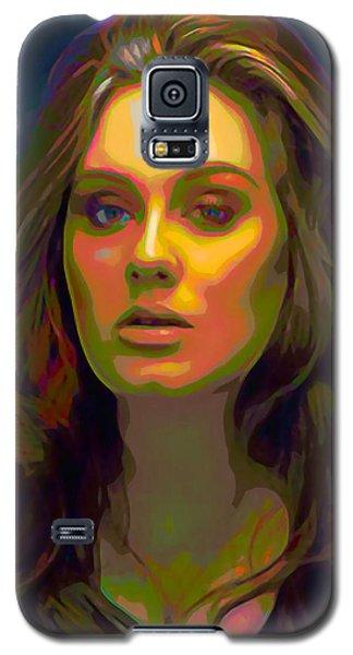 Adele Galaxy S5 Case by  Fli Art