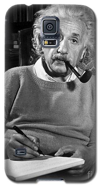 Portraits Galaxy S5 Cases - Albert Einstein Galaxy S5 Case by Granger