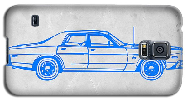 Landmarks Galaxy S5 Cases - American Car Galaxy S5 Case by Naxart Studio