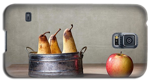 Apple And Pears 01 Galaxy S5 Case by Nailia Schwarz