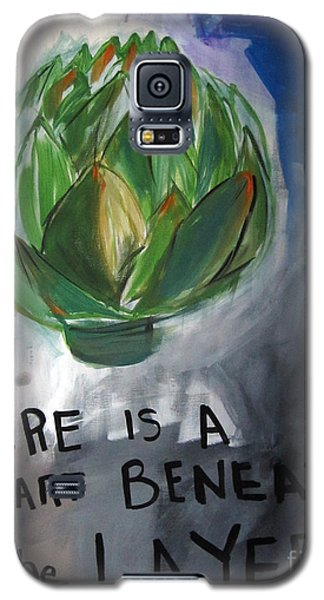 Artichoke Galaxy S5 Case by Linda Woods