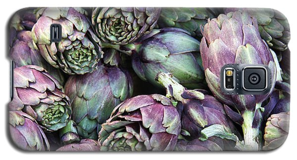 Background Of Artichokes Galaxy S5 Case by Jane Rix