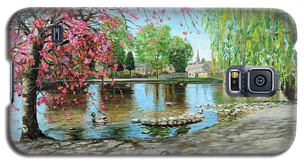 Bakewell Bridge - Derbyshire Galaxy S5 Case by Trevor Neal