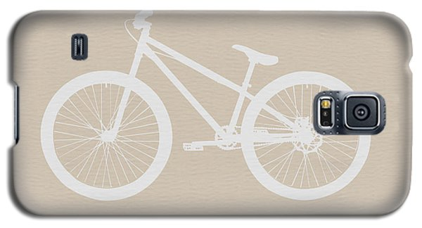 Bicycle Brown Poster Galaxy S5 Case by Naxart Studio