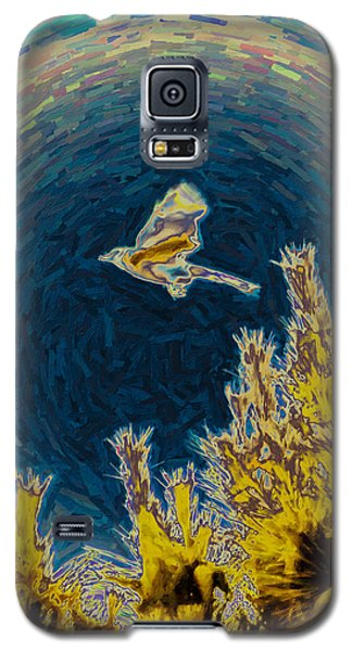 Bluejay Gone Wild Galaxy S5 Case by Trish Tritz