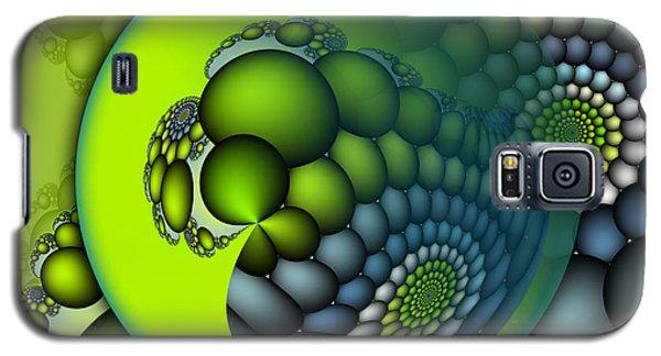 Galaxy S5 Cases - Born to Be Green Galaxy S5 Case by Jutta Maria Pusl