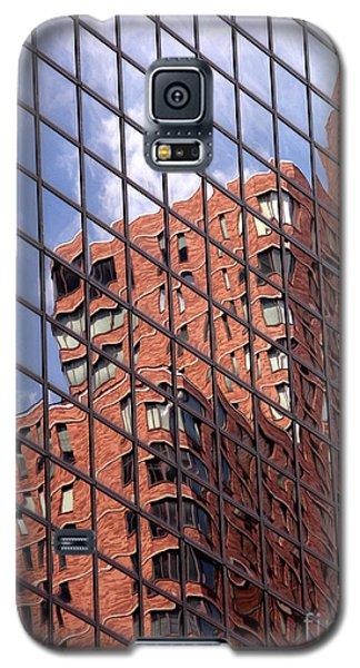 Galaxy S5 Cases - Building reflection Galaxy S5 Case by Tony Cordoza