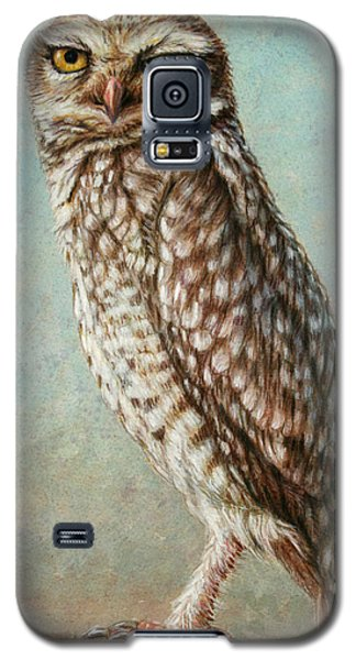 Animals Galaxy S5 Cases - Burrowing Owl Galaxy S5 Case by James W Johnson