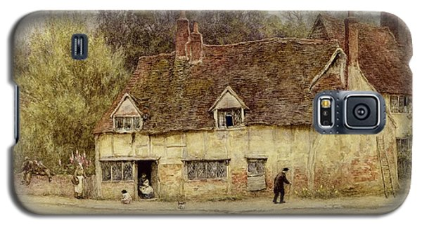 By The Old Cottage Galaxy S5 Case by Helen Allingham