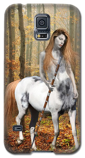 Centaur Series Autumn Walk Galaxy S5 Case by Nikki Marie Smith