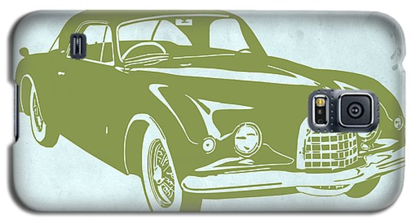 Landmarks Galaxy S5 Cases - Classic Car Galaxy S5 Case by Naxart Studio