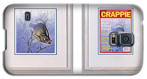 Crappie Magazine And Original Galaxy S5 Case by JQ Licensing
