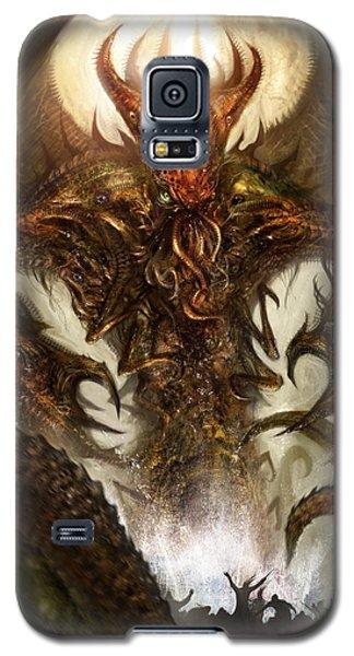 Science Fiction Galaxy S5 Cases - Cthulhu Rising Galaxy S5 Case by Alex Ruiz