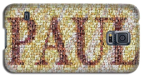 Custom Paul Mosaic Taylor Swift Galaxy S5 Case by Paul Van Scott