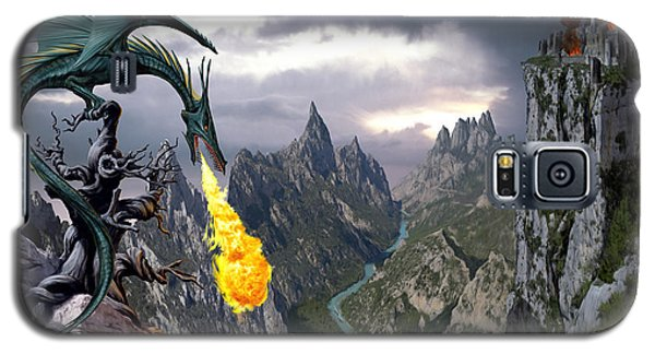 Dragon Valley Galaxy S5 Case by The Dragon Chronicles - Garry Wa