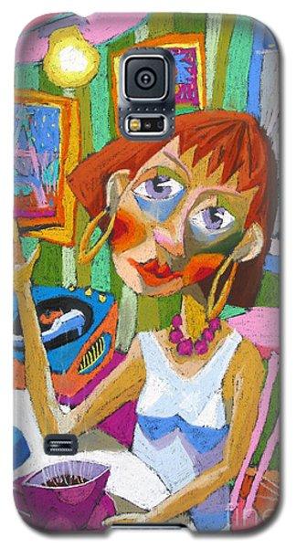 Pastels Galaxy S5 Cases - Evening Dream Galaxy S5 Case by Yuriy  Shevchuk