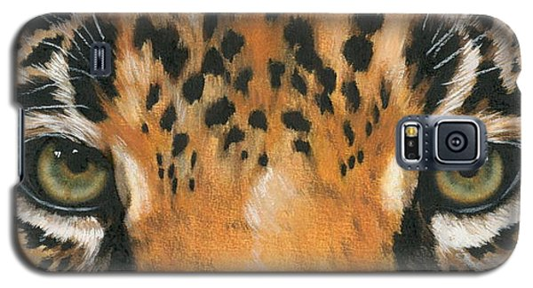 Galaxy S5 Cases - Eye-Catching Jaguar Galaxy S5 Case by Barbara Keith