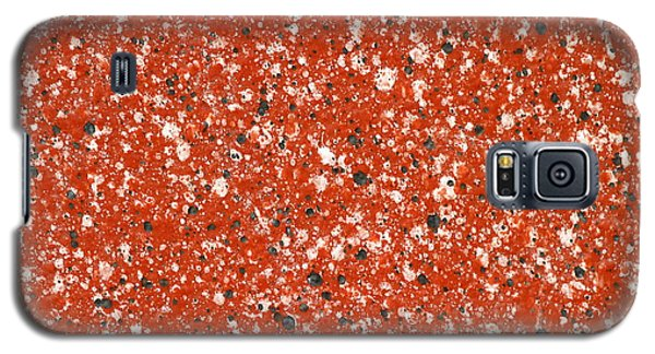 Fake Granite Galaxy S5 Case by Henrik Lehnerer