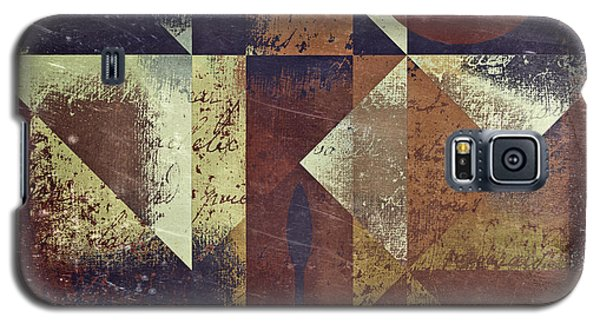 Abstract Galaxy S5 Cases - Geomix 04 - 6ac8bv2t7c Galaxy S5 Case by Variance Collections