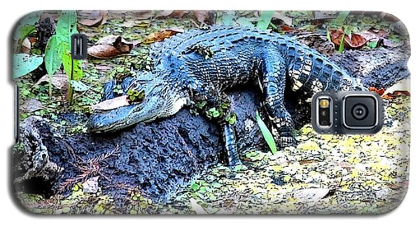 Hard Day In The Swamp - Digital Art Galaxy S5 Case by Carol Groenen