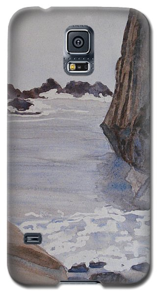 Sculptures Galaxy S5 Cases - High Tide at Seal Rock Galaxy S5 Case by Jenny Armitage