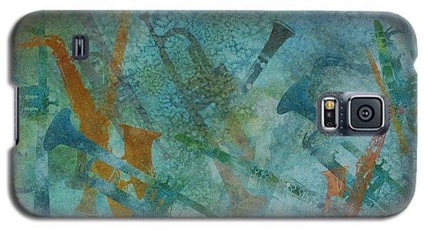 Jazz Improvisation One Galaxy S5 Case by Jenny Armitage