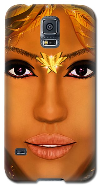 Jessica Alba Fairy Tale Galaxy S5 Case by Mathieu Lalonde