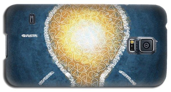 Light Galaxy S5 Cases - Light Bulb Design Galaxy S5 Case by Setsiri Silapasuwanchai