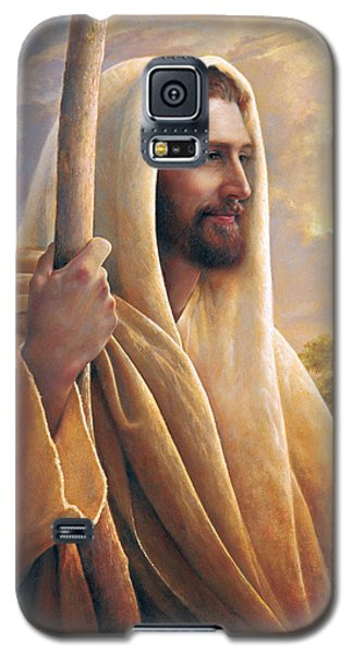 Light Galaxy S5 Cases - Light of the World Galaxy S5 Case by Greg Olsen