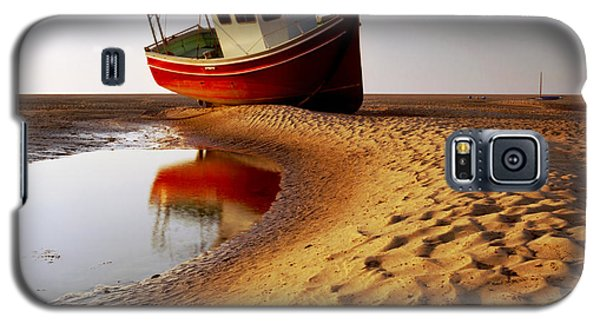 Galaxy S5 Cases - Low Tide Galaxy S5 Case by Peter OReilly