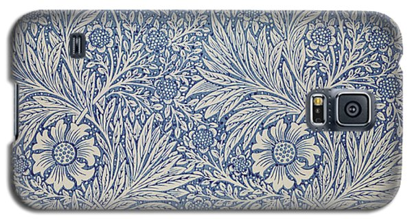 Marigold Wallpaper Design Galaxy S5 Case by William Morris