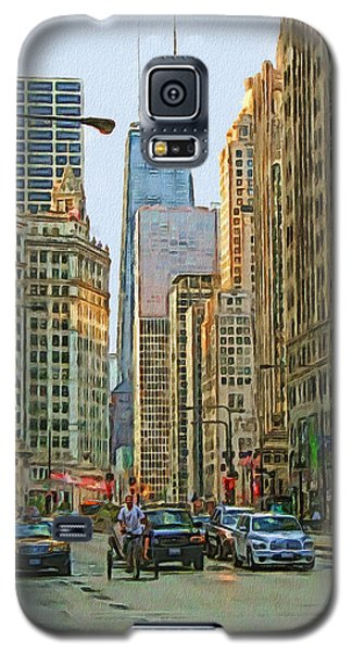 Michigan Avenue Galaxy S5 Case by Vladimir Rayzman