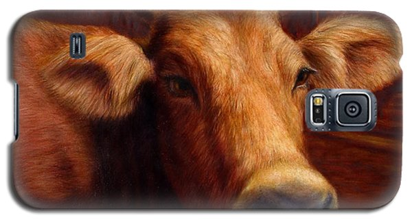 Animals Galaxy S5 Cases - Mrs. OLearys Cow Galaxy S5 Case by James W Johnson