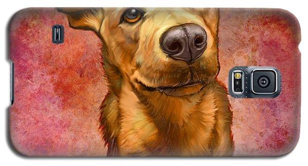 Portraits Galaxy S5 Cases - My Buddy Galaxy S5 Case by Sean ODaniels