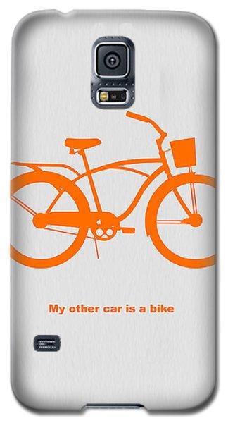 My Other Car Is Bike Galaxy S5 Case by Naxart Studio