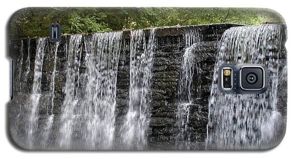Water Galaxy S5 Cases - Old Mill Waterfall Galaxy S5 Case by Bill Cannon
