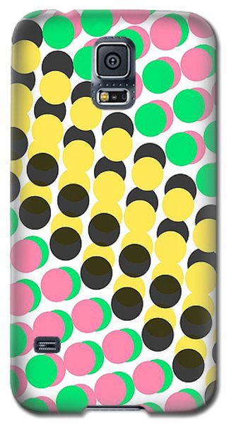 Overlayed Dots Galaxy S5 Case by Louisa Knight