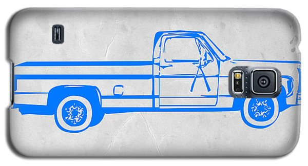 Landmarks Galaxy S5 Cases - Pick up Truck Galaxy S5 Case by Naxart Studio