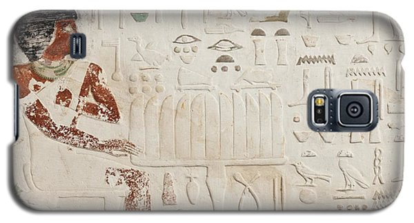 Reliefs Galaxy S5 Cases - Relief of Ka-aper with Offerings - Old Kingdom Galaxy S5 Case by Egyptian fourth Dynasty